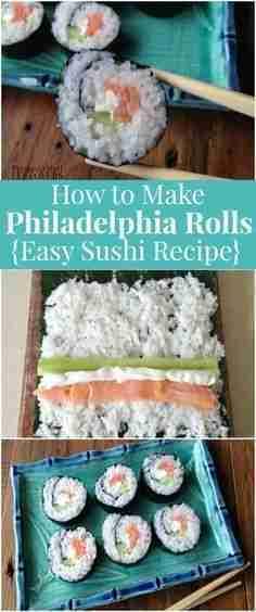 Philadelphia Sushi Roll Recipe