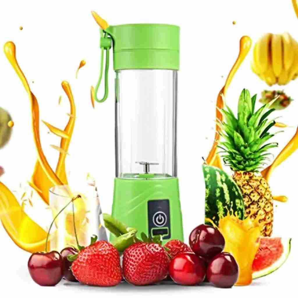 Portable Juicer Blender Mixer – Green