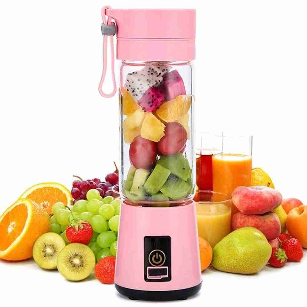 Portable Size USB Electric Fruit Juicer – Pink / Australia