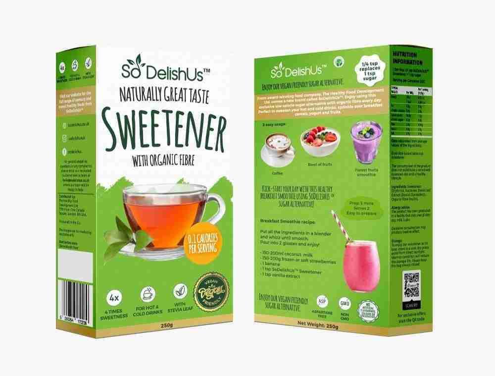 SoDelishUs Table-top Sweetener