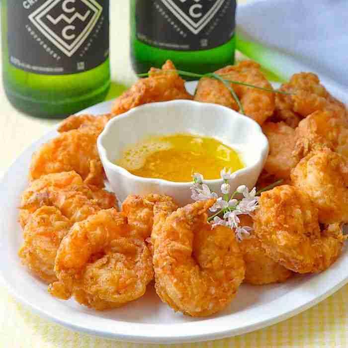 Southern Fried Shrimp Po' Boy – a sandwich classic!