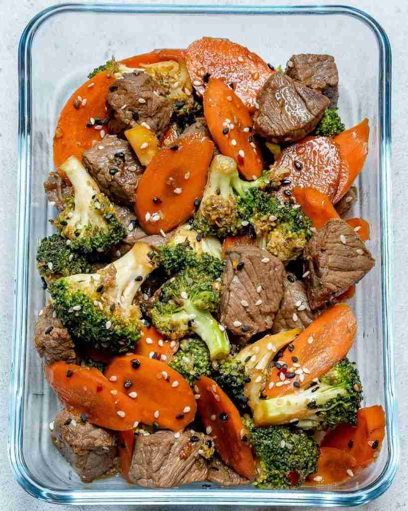 Super Easy Beef Stir Fry for Clean Eating Meal Prep!