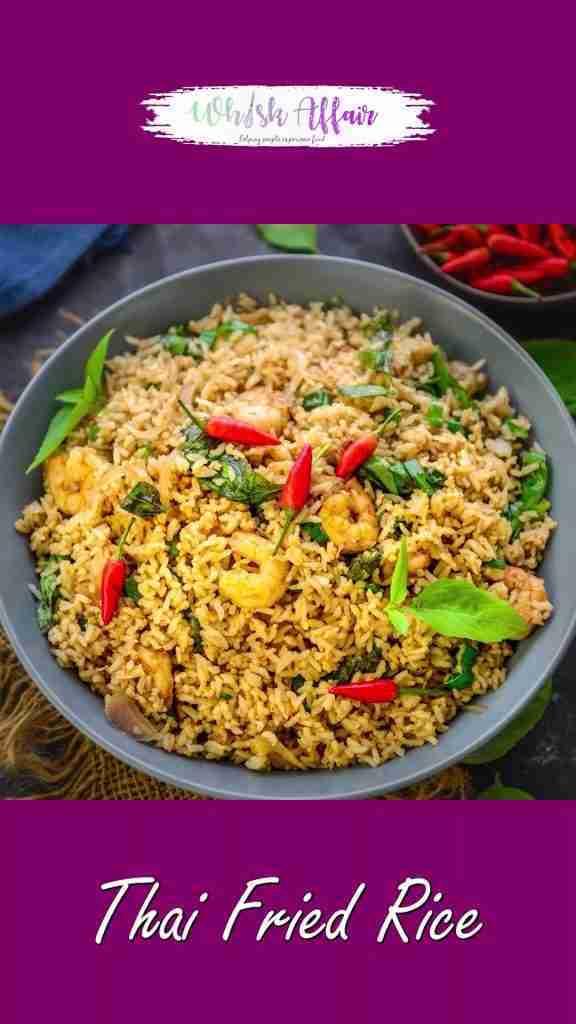 Thai Fried Rice Video Recipe