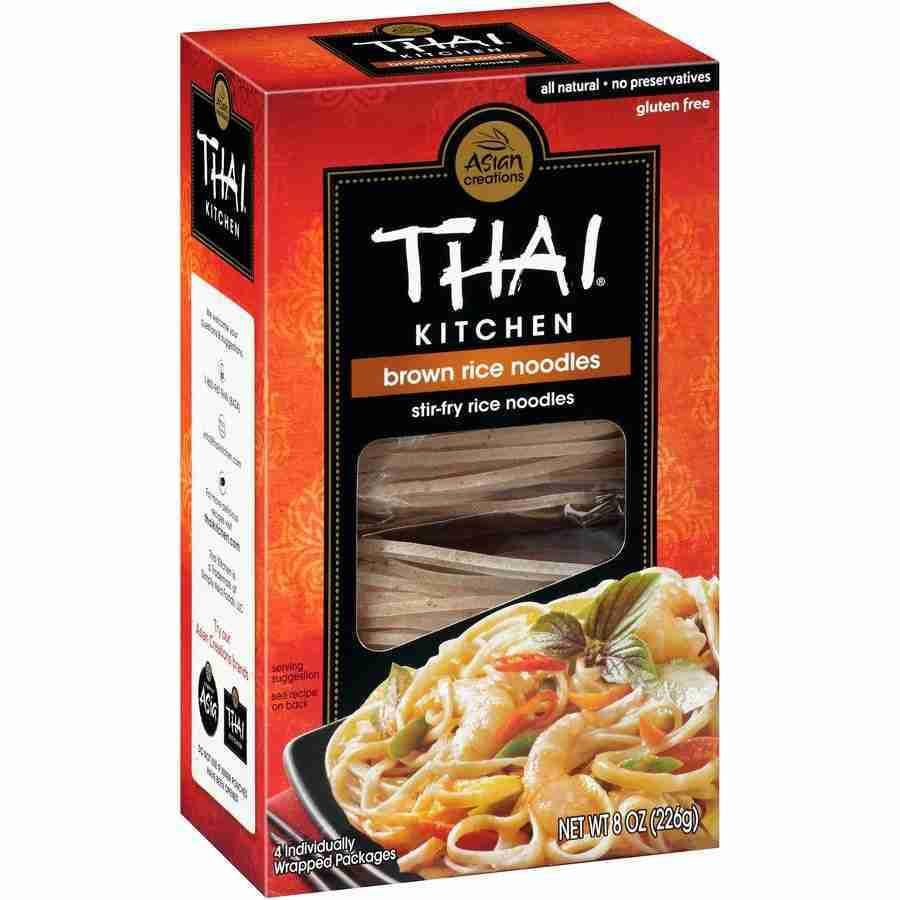 Thai Kitchen Brown Rice Noodles, 8 OZ