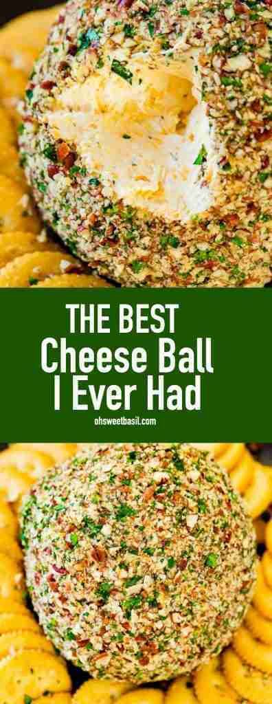 The Best Cheese Ball I Ever Had – Oh Sweet Basil
