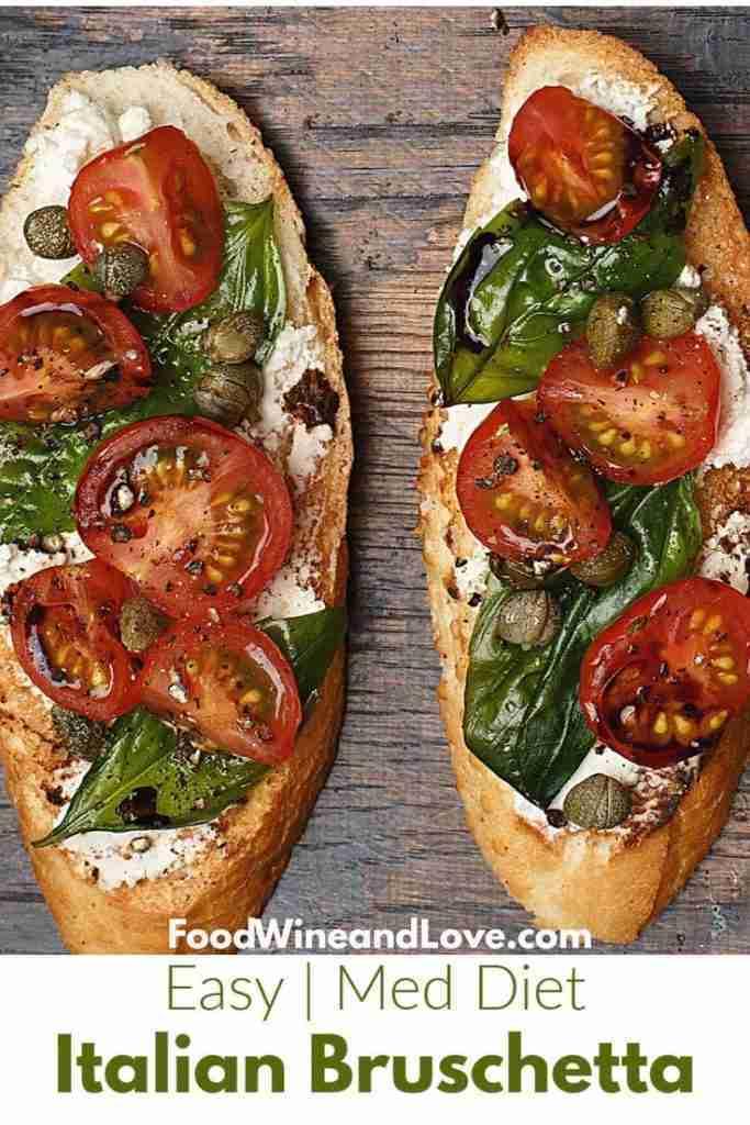The Best Easy Italian Bruschetta #appetizer #recipe #diy #homemade #easy