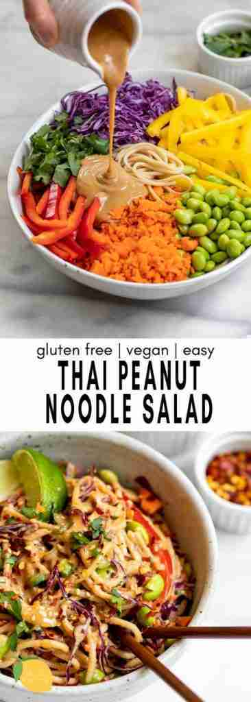 The Very Best Thai Noodle Salad Recipe