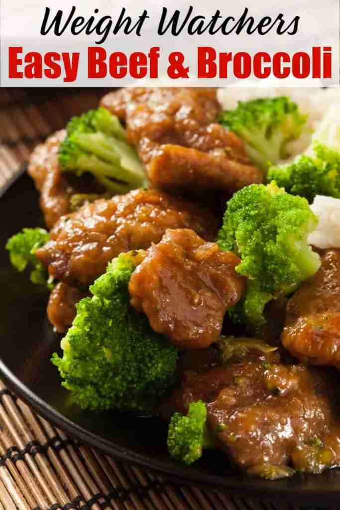 Weight Watchers Beef and Broccoli | Simple Nourished Living