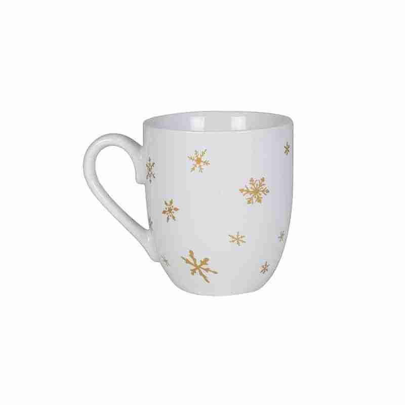 Wintry Woods Snowman Coffee Mug, Set of 2