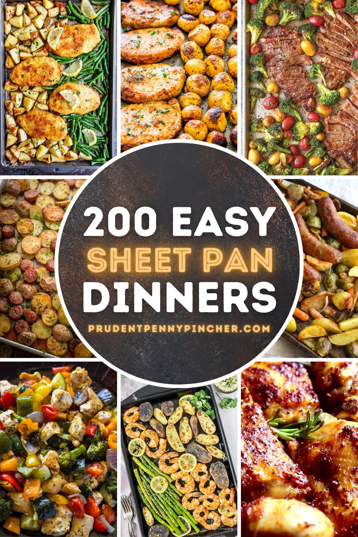 100 Best Sheet Pan Dinners