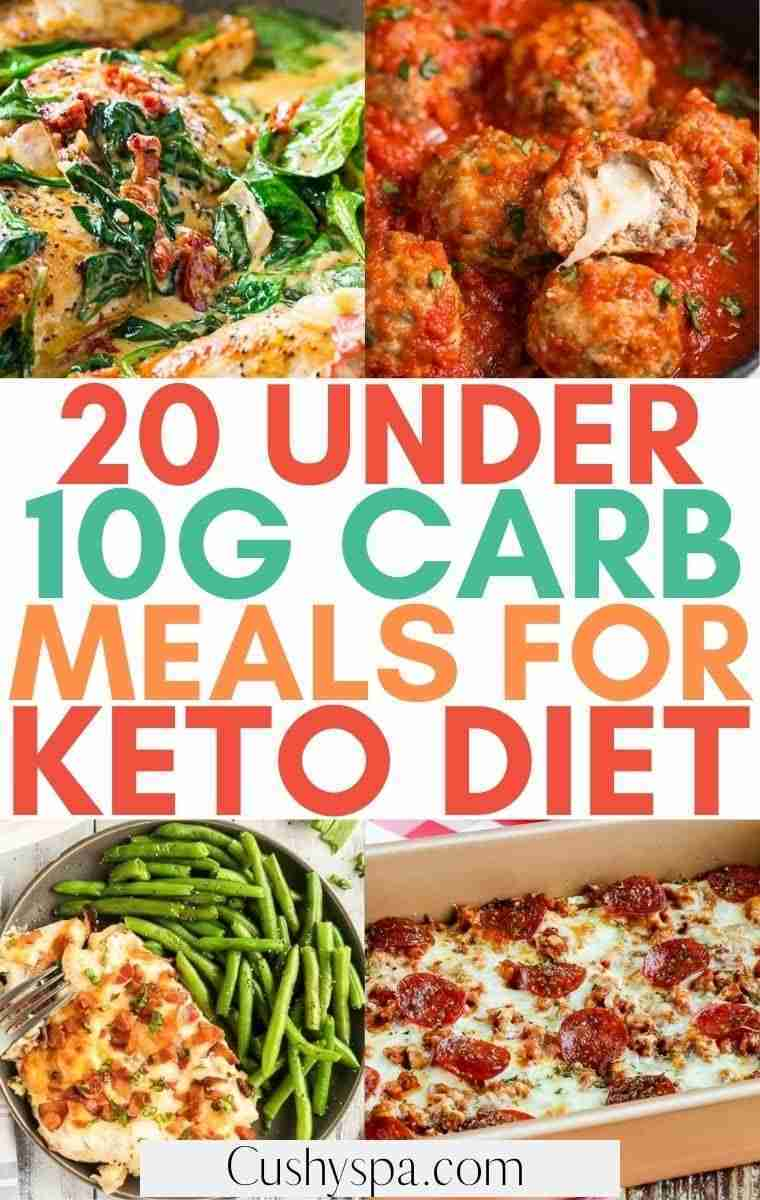 20 Under 10g Carb Meals for When You're on Keto