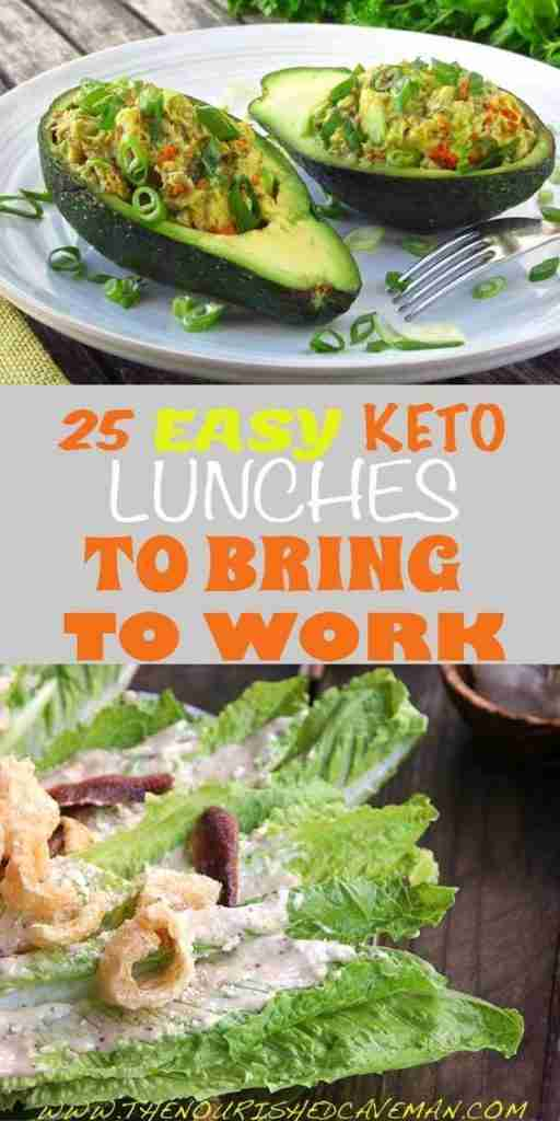 25 Easy Keto Lunches To Bring To Work! – The Nourished Caveman