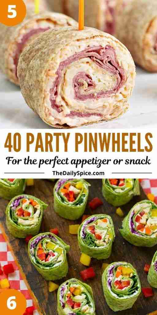 40 Party Pinwheels For The Perfect Roll Up Appetizers – The Daily Spice