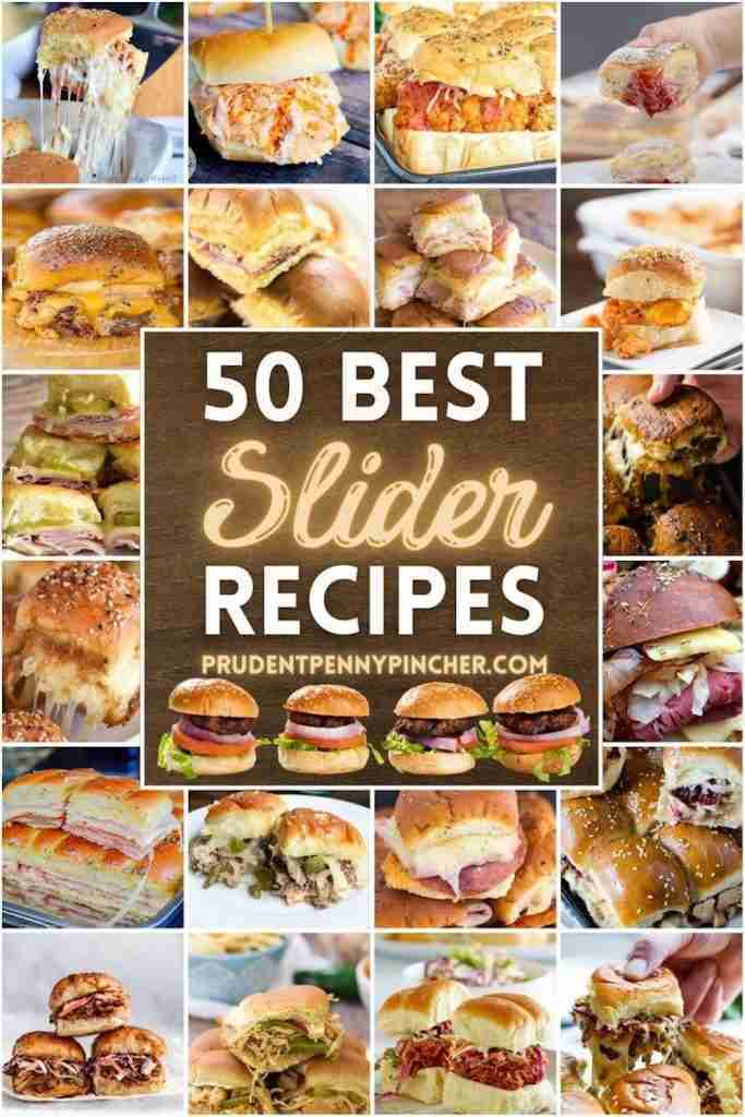 50 Cheap and Easy Slider Recipes