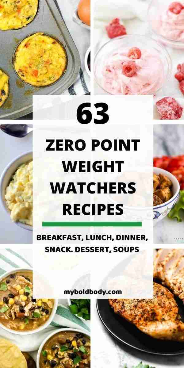 63 Best Zero Point Weight Watchers Recipes To Enjoy Without Guilt