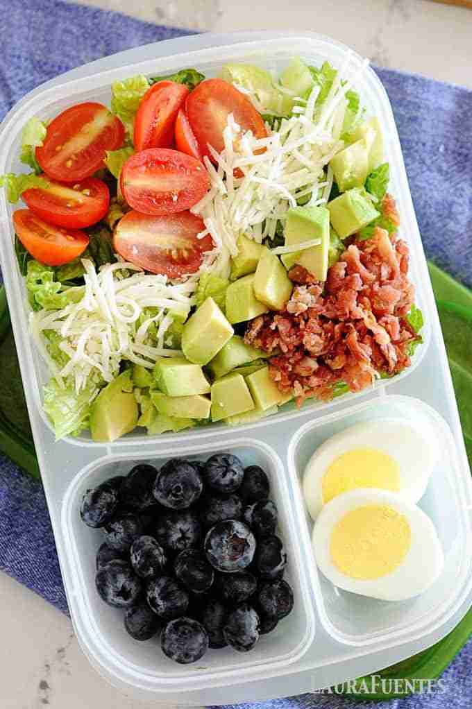 8 easy and healthy lunch ideas perfect for packing to the office or classroom. P…