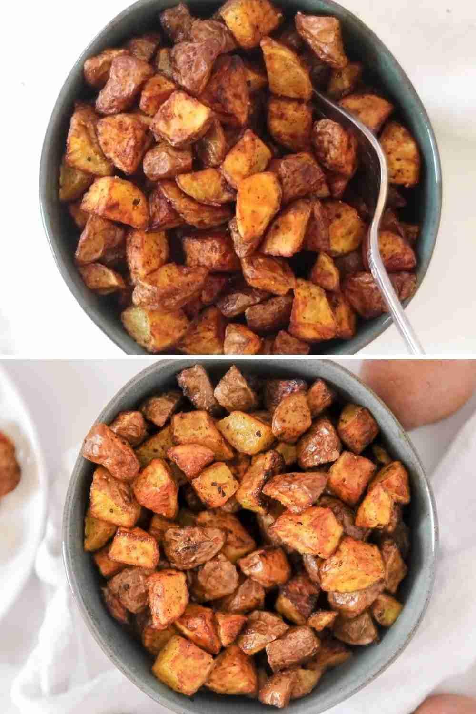 Air Fryer Breakfast Potatoes – Whole30 + Paleo – Momma Fit Lyndsey