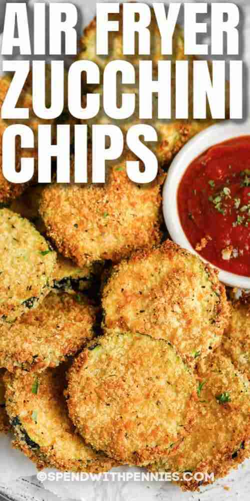 Air Fryer Zucchini Chips (Breaded with Panko) – Spend With Pennies