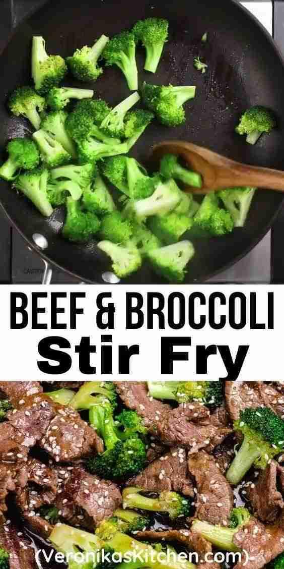 Beef and Broccoli Stir Fry | Veronika's Kitchen