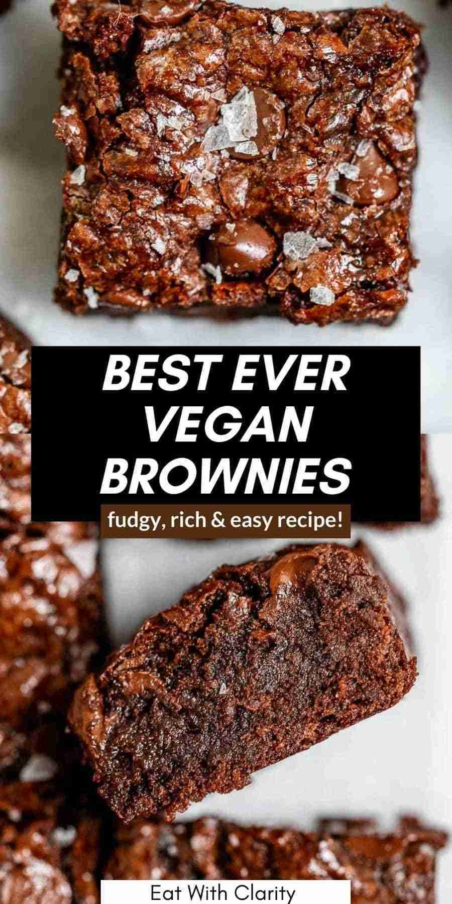 Best Homemade Vegan Brownies (Rich & Fudgy!) – Eat With Clarity