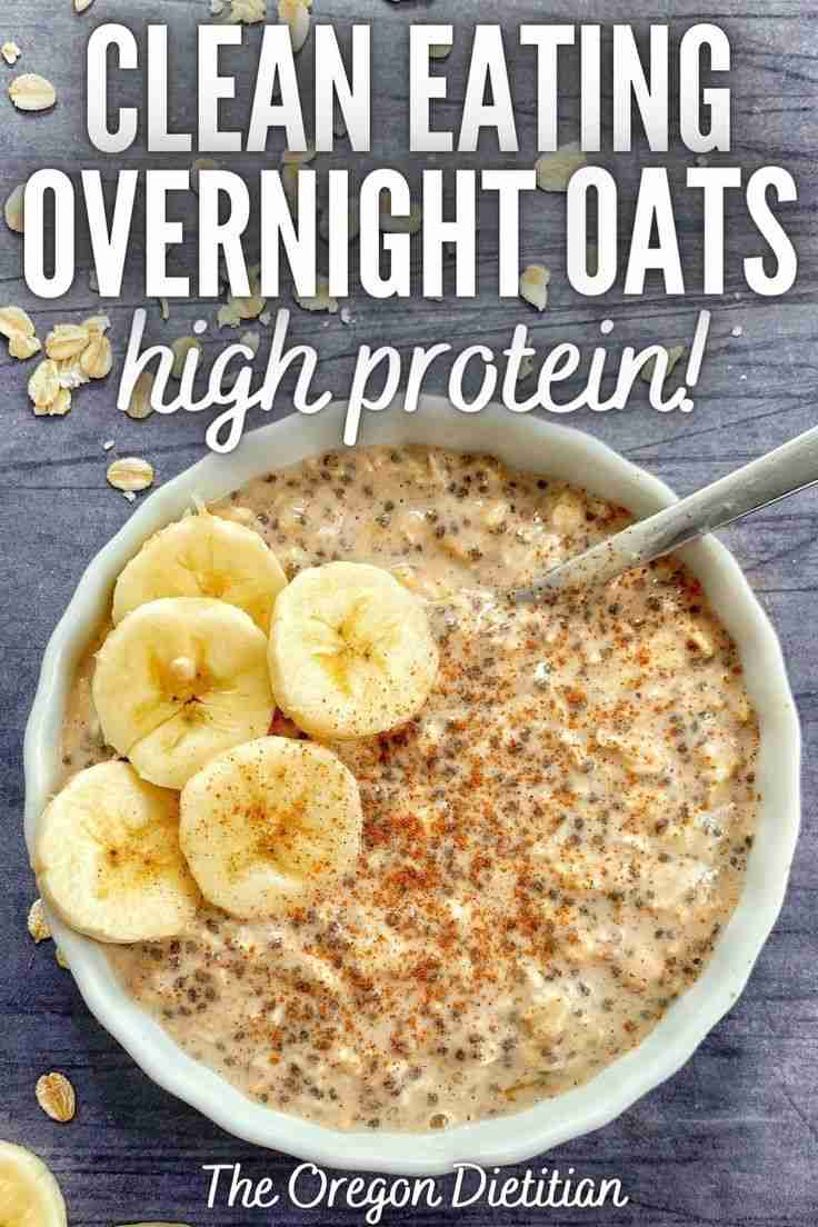 Clean Eating Overnight Oats