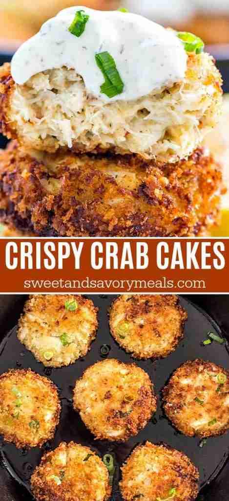 Easy Crab Cakes [VIDEO]