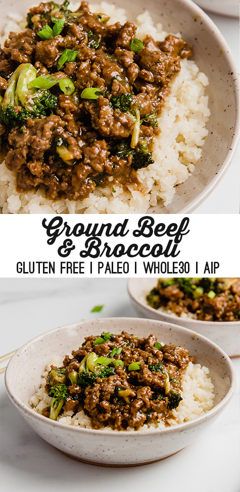 Ground Beef & Broccoli (Paleo, Whole30, AIP) – Unbound Wellness