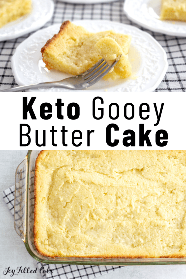 Keto Butter Cake – Low Carb, Gluten-Free, Sugar-Free, THM, S, EASY