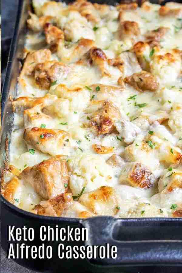Keto Chicken Alfredo Casserole Recipe – Home. Made. Interest.