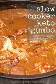 Keto Gumbo (Slow Cooker, THM:S, Low Carb, Paleo, Ketogenic, Whole30) – Fit Mom Journey