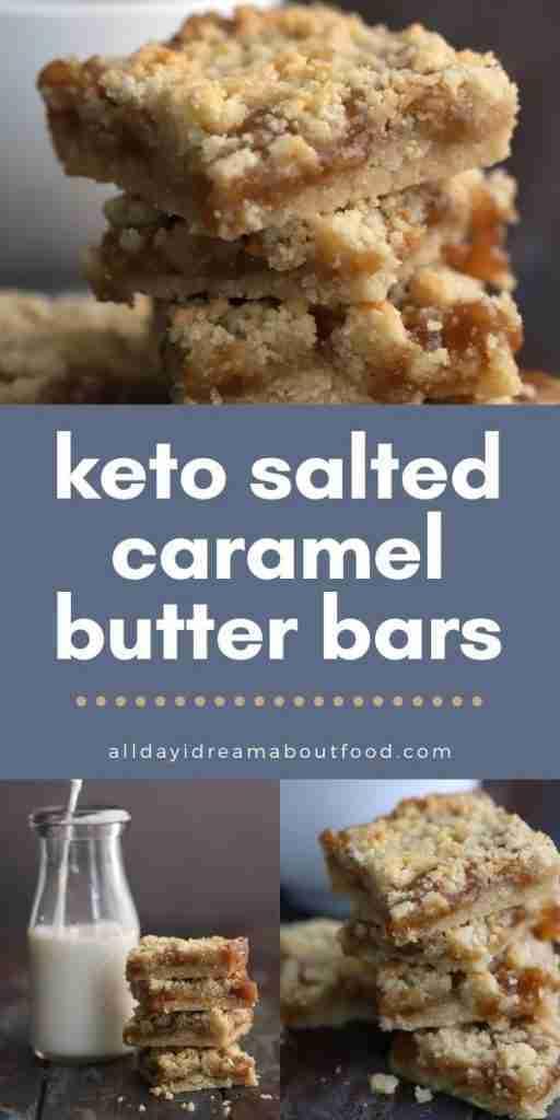 Keto Salted Caramel Butter Bars