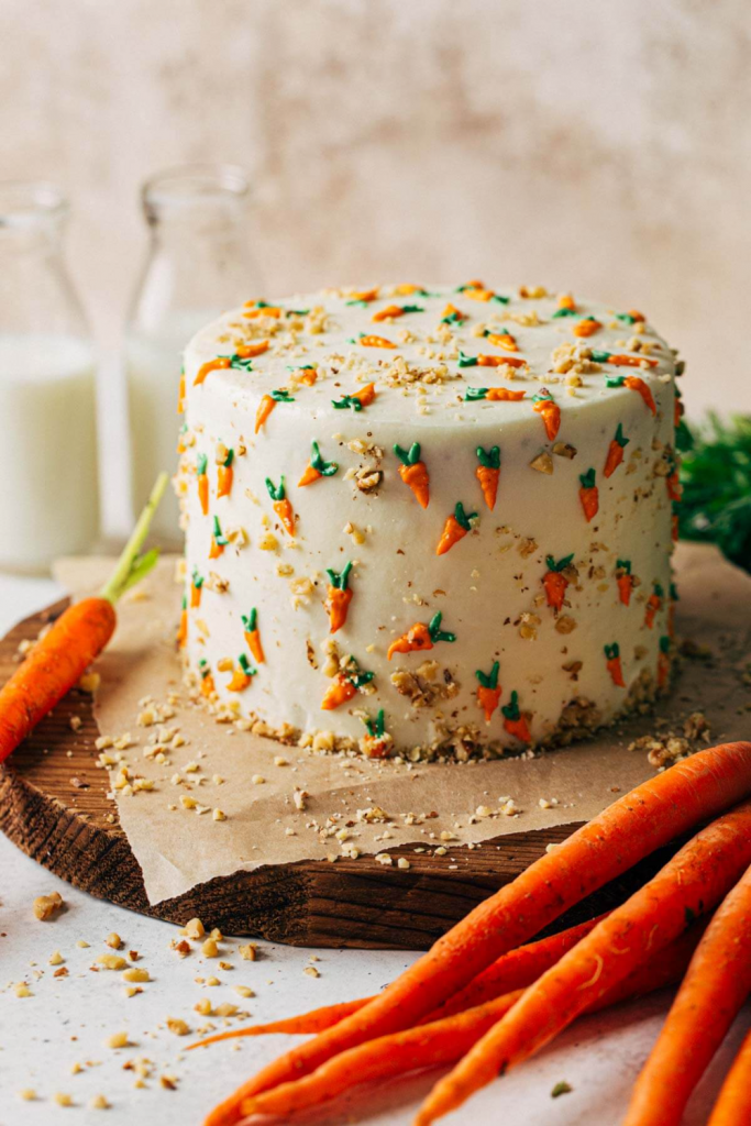MOIST Carrot Cake With Cream Cheese Frosting   Butternut Bakery