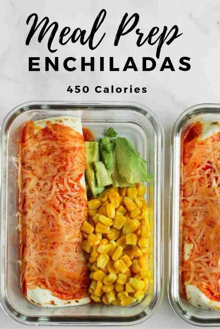 Meal Prep Enchiladas – Megan vs Kitchen