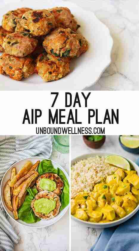 My Paleo, AIP Meal Prep Plan for a Week
