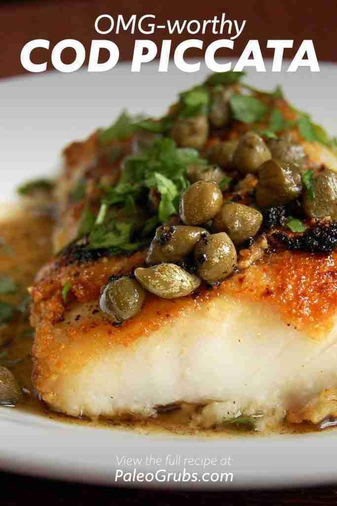 OMG-worthy Cod Piccata Recipe