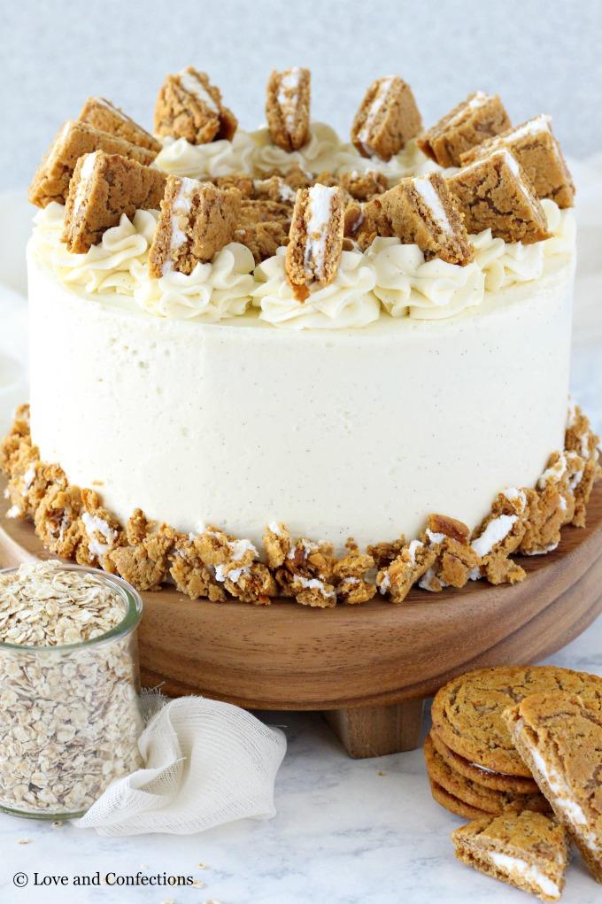 Oatmeal Cream Pie Layer Cake