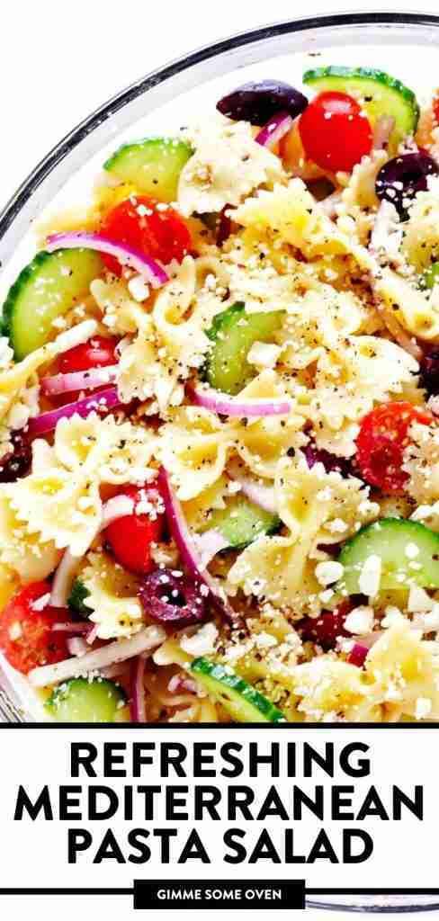 Refreshing Mediterranean Pasta Salad