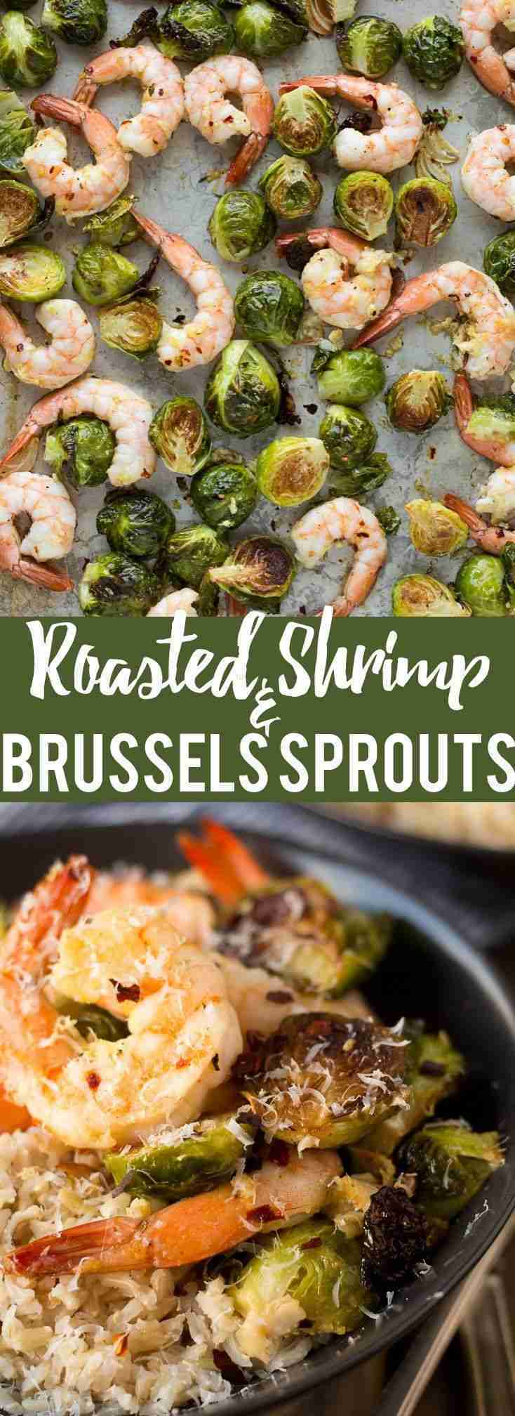 Roasted Shrimp and Brussels Sprouts – Fox and Briar