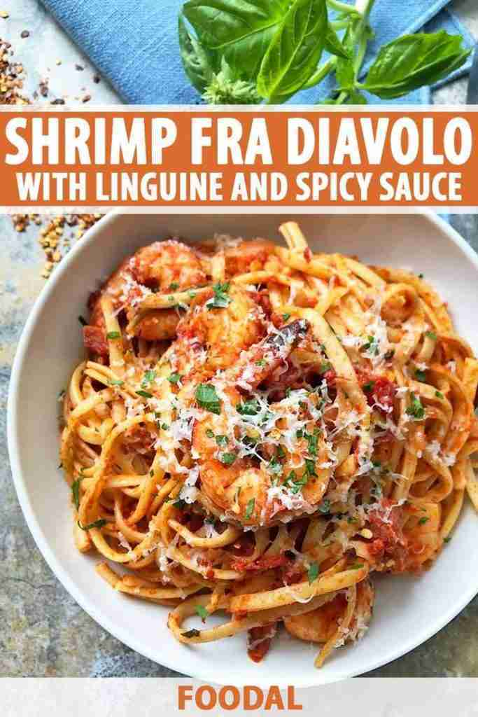 Shrimp Fra Diavolo (Italian Shrimp and Linguine with Spicy Sauce)
