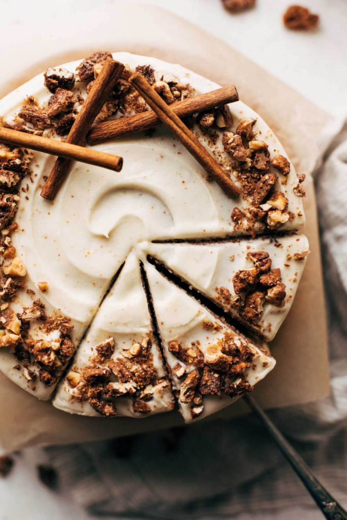 Spice Cake With Brown Butter Cream Cheese Frosting – Butternut Bakery