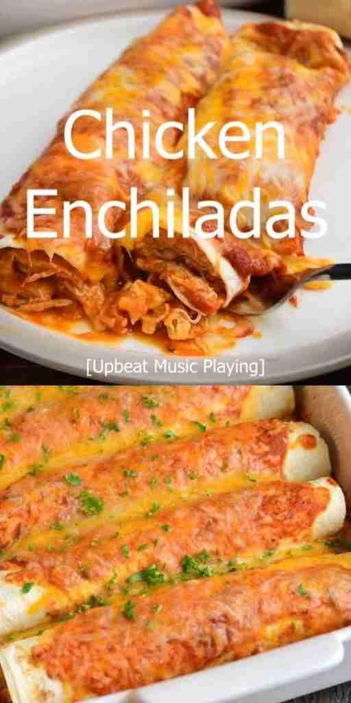 The BEST Chicken Enchiladas!