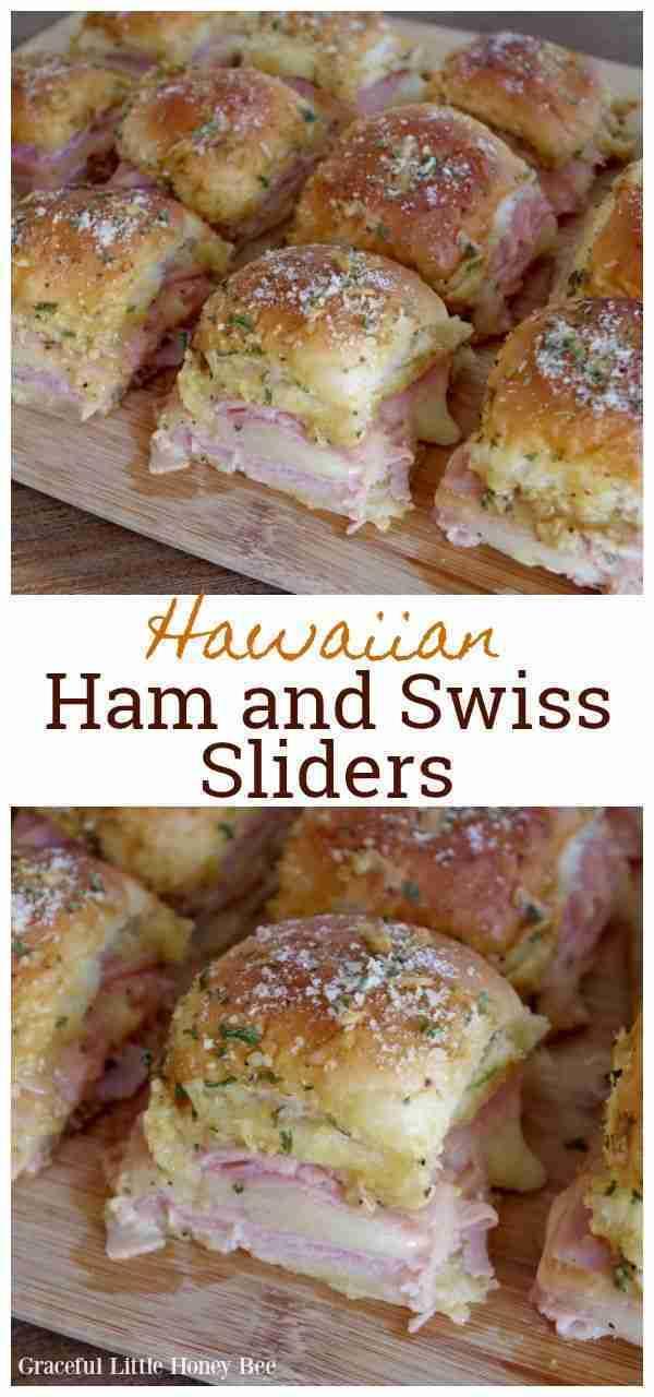 The BEST Ham and Swiss Sliders Recipe – Graceful Little Honey Bee