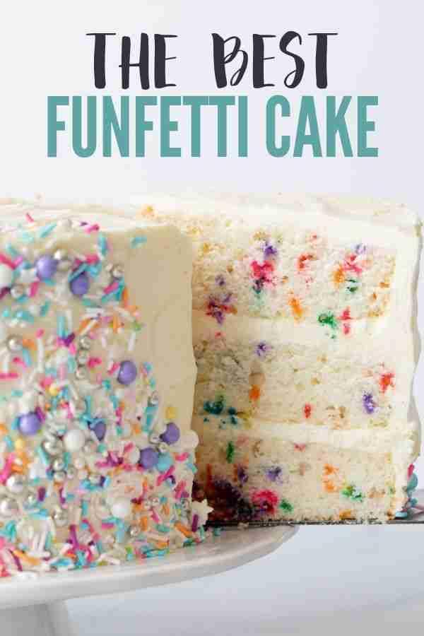 The Best Funfetti Cake