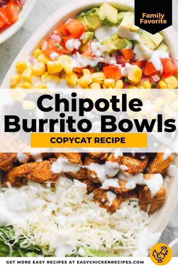 This chicken burrito bowl, is a nutritious, delicious and filling meal. It's a h…