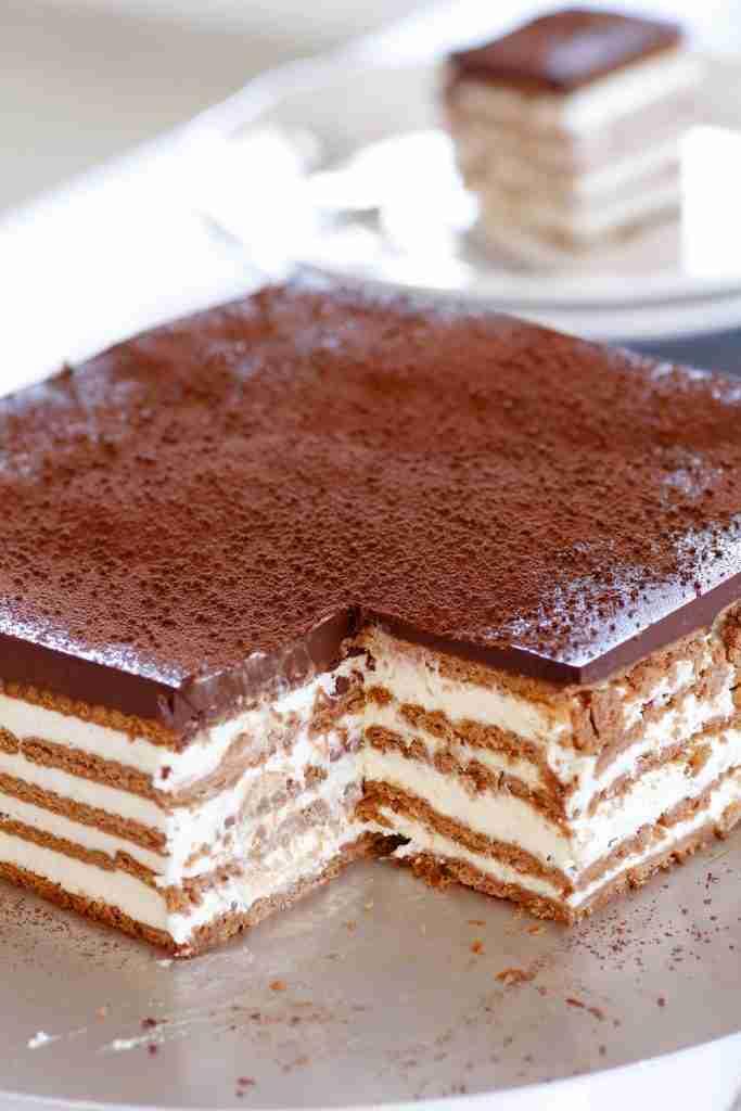 Tiramisu Icebox Cake   Lil' Cookie