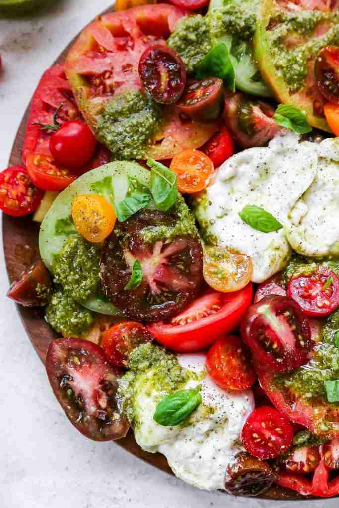Tomato Burrata Salad {Caprese Salad 2.0!} – Plays Well With Butter