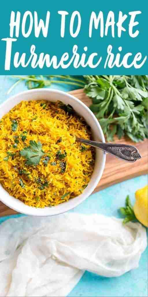 Turmeric Rice Recipe – Fox and Briar