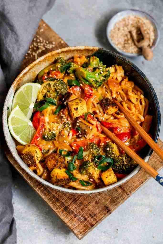 Veganes Thai Panang Curry